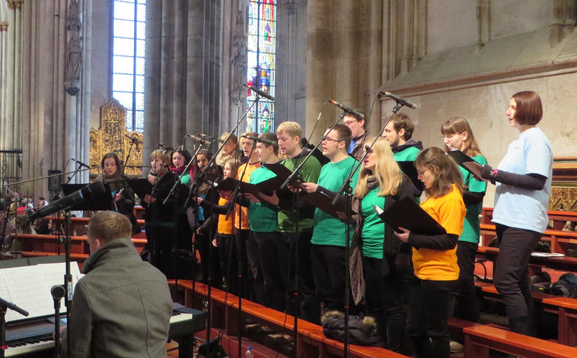 Frohes neues Jahr 2014!   Junger Chor MiCaDo Wermelskirchen